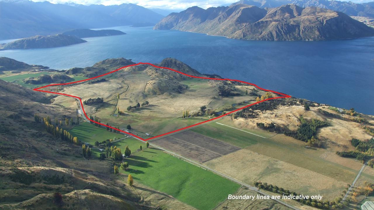 Farm / Ranch / Plantation for Sale at Lake Wanaka Waterfront Property New Zealand